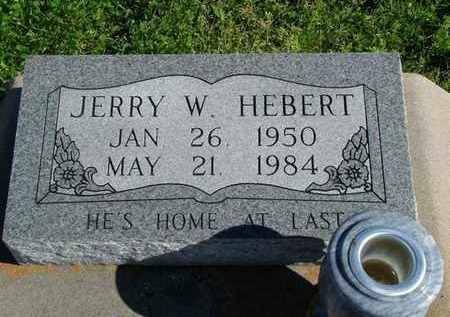 HEBERT, JERRY W - Vermilion County, Louisiana | JERRY W HEBERT - Louisiana Gravestone Photos