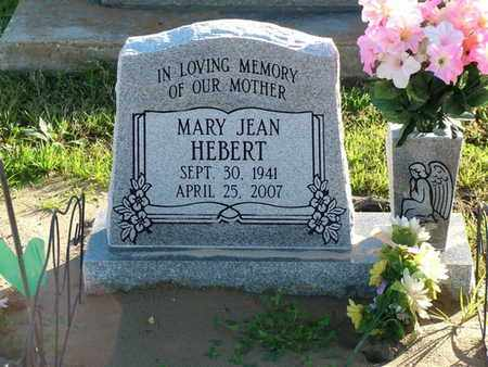 HEBERT, MARY JEAN - Vermilion County, Louisiana   MARY JEAN HEBERT - Louisiana Gravestone Photos