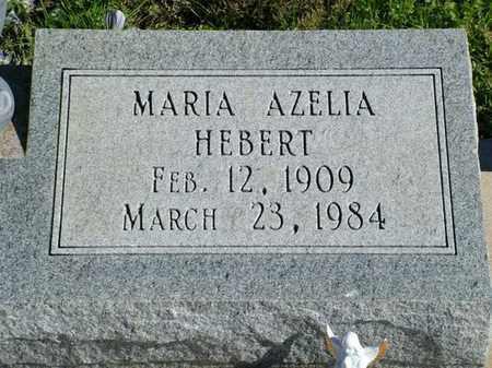 HEBERT, MARIA AZELIA - Vermilion County, Louisiana   MARIA AZELIA HEBERT - Louisiana Gravestone Photos