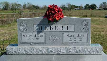HEBERT, MARY JANE - Vermilion County, Louisiana   MARY JANE HEBERT - Louisiana Gravestone Photos