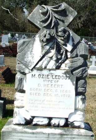 HEBERT, M OZIE - Vermilion County, Louisiana   M OZIE HEBERT - Louisiana Gravestone Photos