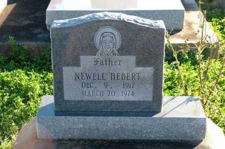 HEBERT, NEWELL - Vermilion County, Louisiana   NEWELL HEBERT - Louisiana Gravestone Photos