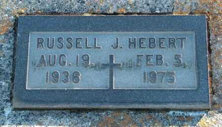 HEBERT, RUSSELL J - Vermilion County, Louisiana   RUSSELL J HEBERT - Louisiana Gravestone Photos