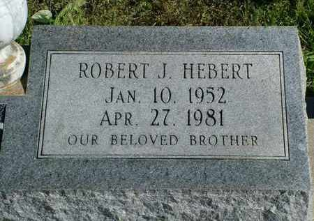 HEBERT, ROBERT J - Vermilion County, Louisiana | ROBERT J HEBERT - Louisiana Gravestone Photos