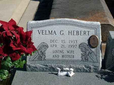 HEBERT, VELMA G - Vermilion County, Louisiana | VELMA G HEBERT - Louisiana Gravestone Photos