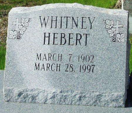 HEBERT, WHITNEY - Vermilion County, Louisiana   WHITNEY HEBERT - Louisiana Gravestone Photos