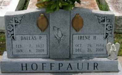 HOFFPAIUR, DALLAS PIERRE - Vermilion County, Louisiana | DALLAS PIERRE HOFFPAIUR - Louisiana Gravestone Photos