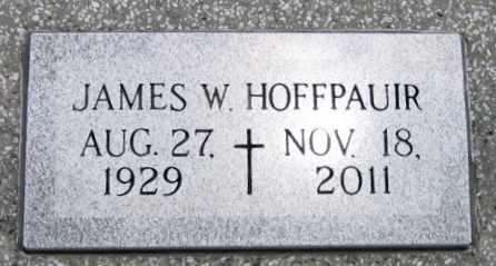 HOFFPAUIR, JAMES W - Vermilion County, Louisiana | JAMES W HOFFPAUIR - Louisiana Gravestone Photos