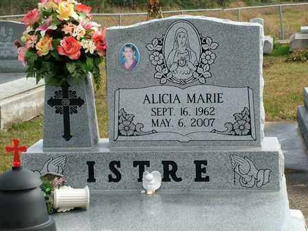ISTRE, ALICIA MARIE - Vermilion County, Louisiana | ALICIA MARIE ISTRE - Louisiana Gravestone Photos