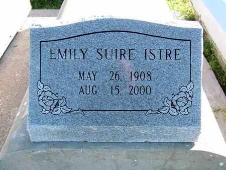 ISTRE, EMILY - Vermilion County, Louisiana | EMILY ISTRE - Louisiana Gravestone Photos