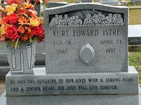 ISTRE, KURT EDWARD - Vermilion County, Louisiana | KURT EDWARD ISTRE - Louisiana Gravestone Photos