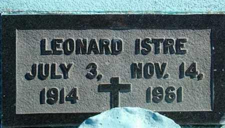 ISTRE, LEONARD - Vermilion County, Louisiana | LEONARD ISTRE - Louisiana Gravestone Photos