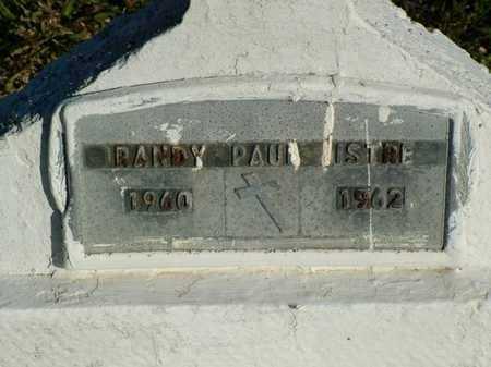 ISTRE, RANDY PAUL - Vermilion County, Louisiana   RANDY PAUL ISTRE - Louisiana Gravestone Photos