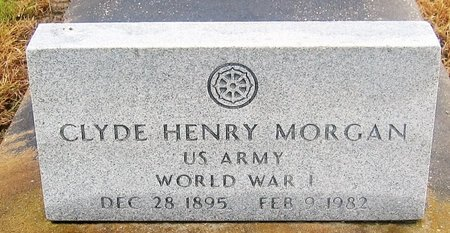 MORGAN, CLYDE HENRY  (VETERAN WWI) - Vermilion County, Louisiana | CLYDE HENRY  (VETERAN WWI) MORGAN - Louisiana Gravestone Photos