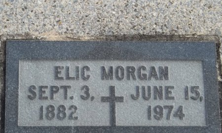 MORGAN, ELIC - Vermilion County, Louisiana | ELIC MORGAN - Louisiana Gravestone Photos
