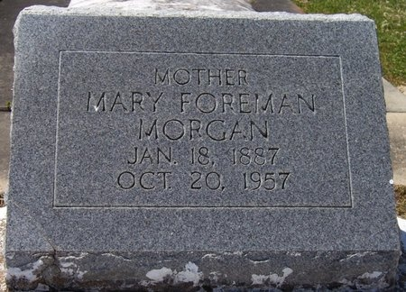 MORGAN, MARY - Vermilion County, Louisiana | MARY MORGAN - Louisiana Gravestone Photos