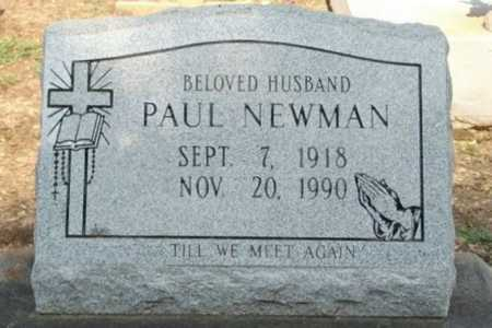NEWMAN, PAUL - Vermilion County, Louisiana | PAUL NEWMAN - Louisiana Gravestone Photos