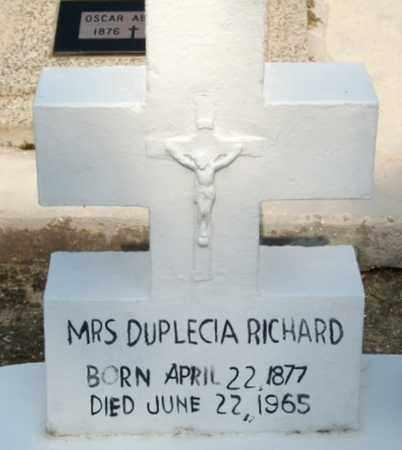 GASPARD RICHARD, ALICIA - Vermilion County, Louisiana | ALICIA GASPARD RICHARD - Louisiana Gravestone Photos