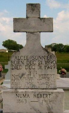 HEBERT, NUMA - Vermilion County, Louisiana   NUMA HEBERT - Louisiana Gravestone Photos