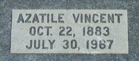 VINCENT, AZATILE - Vermilion County, Louisiana | AZATILE VINCENT - Louisiana Gravestone Photos