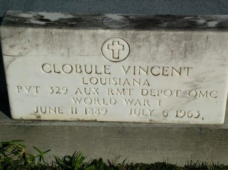 VINCENT, CLOBULE  (VETERAN WWI) - Vermilion County, Louisiana | CLOBULE  (VETERAN WWI) VINCENT - Louisiana Gravestone Photos