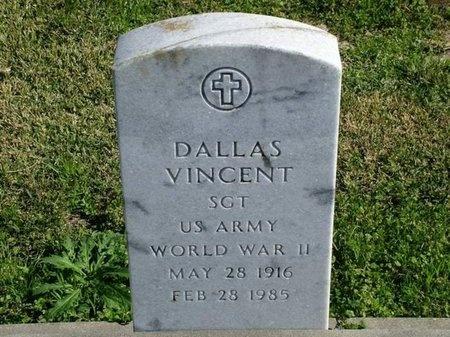 VINCENT, DALLAS  (VETERAM WWII) - Vermilion County, Louisiana | DALLAS  (VETERAM WWII) VINCENT - Louisiana Gravestone Photos