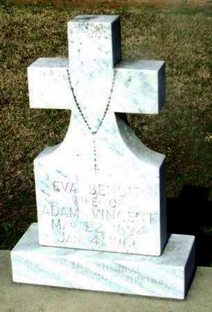 VINCENT, EVA - Vermilion County, Louisiana | EVA VINCENT - Louisiana Gravestone Photos