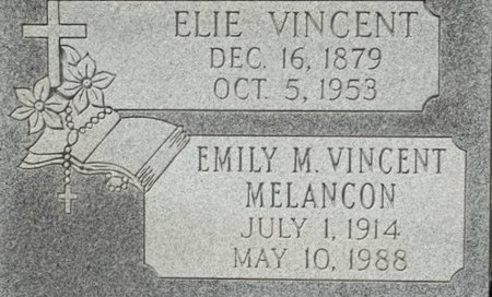 VINCENT, ELIE - Vermilion County, Louisiana | ELIE VINCENT - Louisiana Gravestone Photos