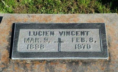 VINCENT, LUCIEN - Vermilion County, Louisiana | LUCIEN VINCENT - Louisiana Gravestone Photos