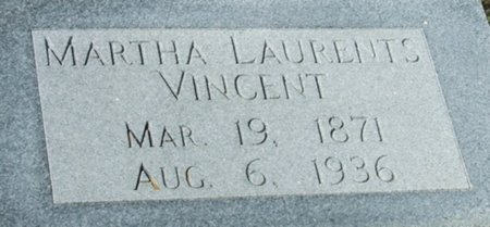 VINCENT, MARTHA - Vermilion County, Louisiana | MARTHA VINCENT - Louisiana Gravestone Photos