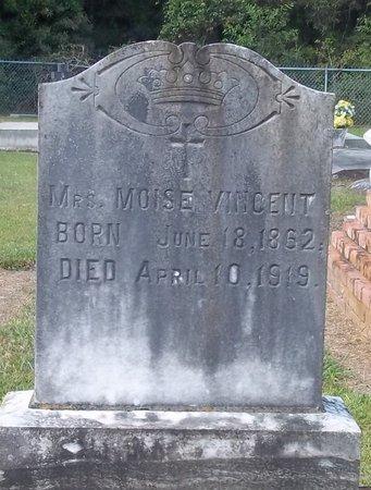VINCENT, MOISE, MRS - Vermilion County, Louisiana   MOISE, MRS VINCENT - Louisiana Gravestone Photos