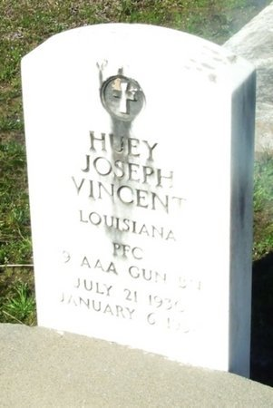 VINCENT, HUEY JOSEPH (VETERAN) - Vermilion County, Louisiana | HUEY JOSEPH (VETERAN) VINCENT - Louisiana Gravestone Photos