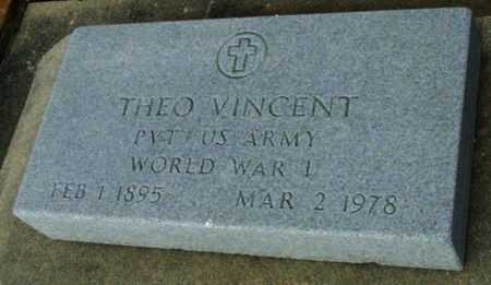 VINCENT, THEO (VETERAN WWI) - Vermilion County, Louisiana | THEO (VETERAN WWI) VINCENT - Louisiana Gravestone Photos