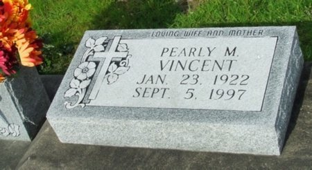 VINCENT, PEARLY M - Vermilion County, Louisiana | PEARLY M VINCENT - Louisiana Gravestone Photos