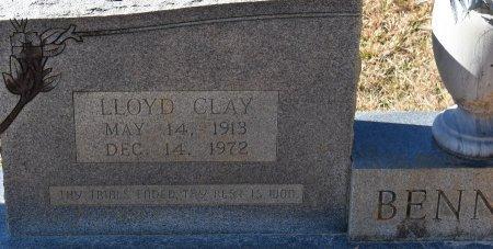 BENNETT, LLOYD CLAY (CLOSE UP) - Vernon County, Louisiana   LLOYD CLAY (CLOSE UP) BENNETT - Louisiana Gravestone Photos