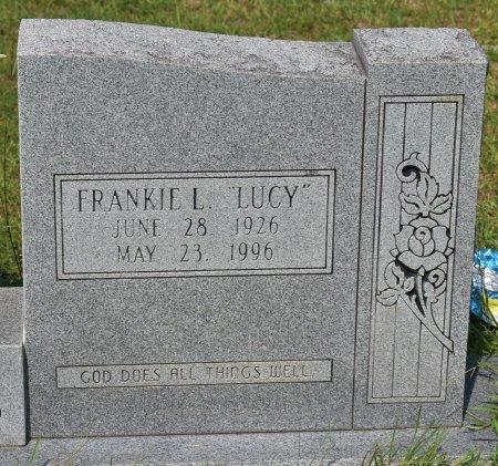 "BRIDGES, FRANKIE LOUISE ""LUCY"" (CLOSE UP) - Vernon County, Louisiana | FRANKIE LOUISE ""LUCY"" (CLOSE UP) BRIDGES - Louisiana Gravestone Photos"