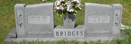 BRIDGES, GARY DON - Vernon County, Louisiana | GARY DON BRIDGES - Louisiana Gravestone Photos