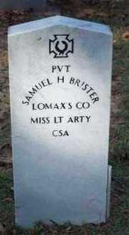 BRISTER, SAMUEL HOCKADAY (VETERAN CSA) - Vernon County, Louisiana | SAMUEL HOCKADAY (VETERAN CSA) BRISTER - Louisiana Gravestone Photos