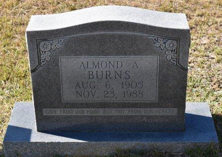 BURNS, ALMOND A - Vernon County, Louisiana | ALMOND A BURNS - Louisiana Gravestone Photos