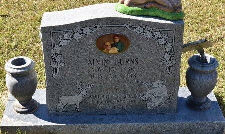 BURNS, ALVIN - Vernon County, Louisiana | ALVIN BURNS - Louisiana Gravestone Photos