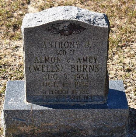 BURNS, ANTHONY D - Vernon County, Louisiana | ANTHONY D BURNS - Louisiana Gravestone Photos