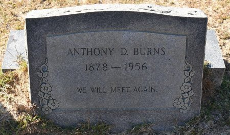 BURNS, ANTHONY D - Vernon County, Louisiana | ANTHONY D BURNS - Louisiana Gravestone Photos