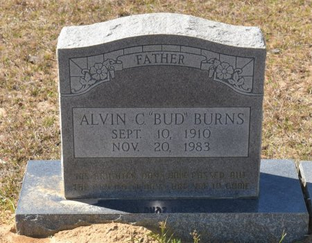 "BURNS, ALVIN C ""BUD"" - Vernon County, Louisiana   ALVIN C ""BUD"" BURNS - Louisiana Gravestone Photos"