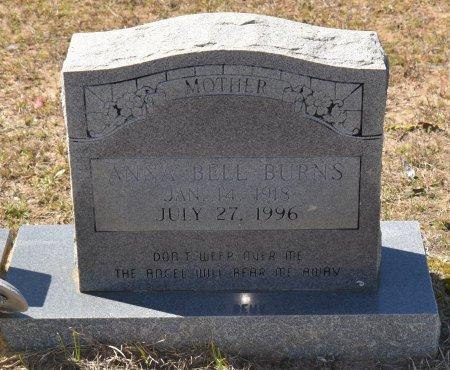 BURNS, ANNA BELL - Vernon County, Louisiana   ANNA BELL BURNS - Louisiana Gravestone Photos