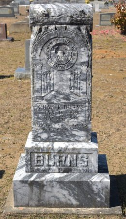 BURNS, CHARLES ROBERT - Vernon County, Louisiana | CHARLES ROBERT BURNS - Louisiana Gravestone Photos