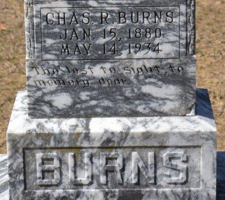 BURNS, CHARLES ROBERT (CLOSE UP) - Vernon County, Louisiana | CHARLES ROBERT (CLOSE UP) BURNS - Louisiana Gravestone Photos
