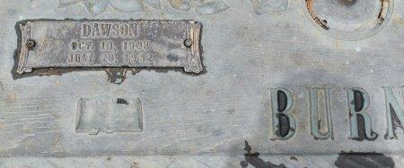 BURNS, DAWSON (CLOSE UP) - Vernon County, Louisiana | DAWSON (CLOSE UP) BURNS - Louisiana Gravestone Photos