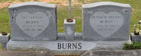 BURNS, DRU EVELYN - Vernon County, Louisiana | DRU EVELYN BURNS - Louisiana Gravestone Photos