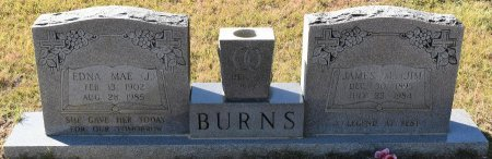 BURNS, JAMES M - Vernon County, Louisiana | JAMES M BURNS - Louisiana Gravestone Photos