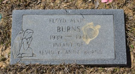 BURNS, FLOYD ALVIN - Vernon County, Louisiana | FLOYD ALVIN BURNS - Louisiana Gravestone Photos